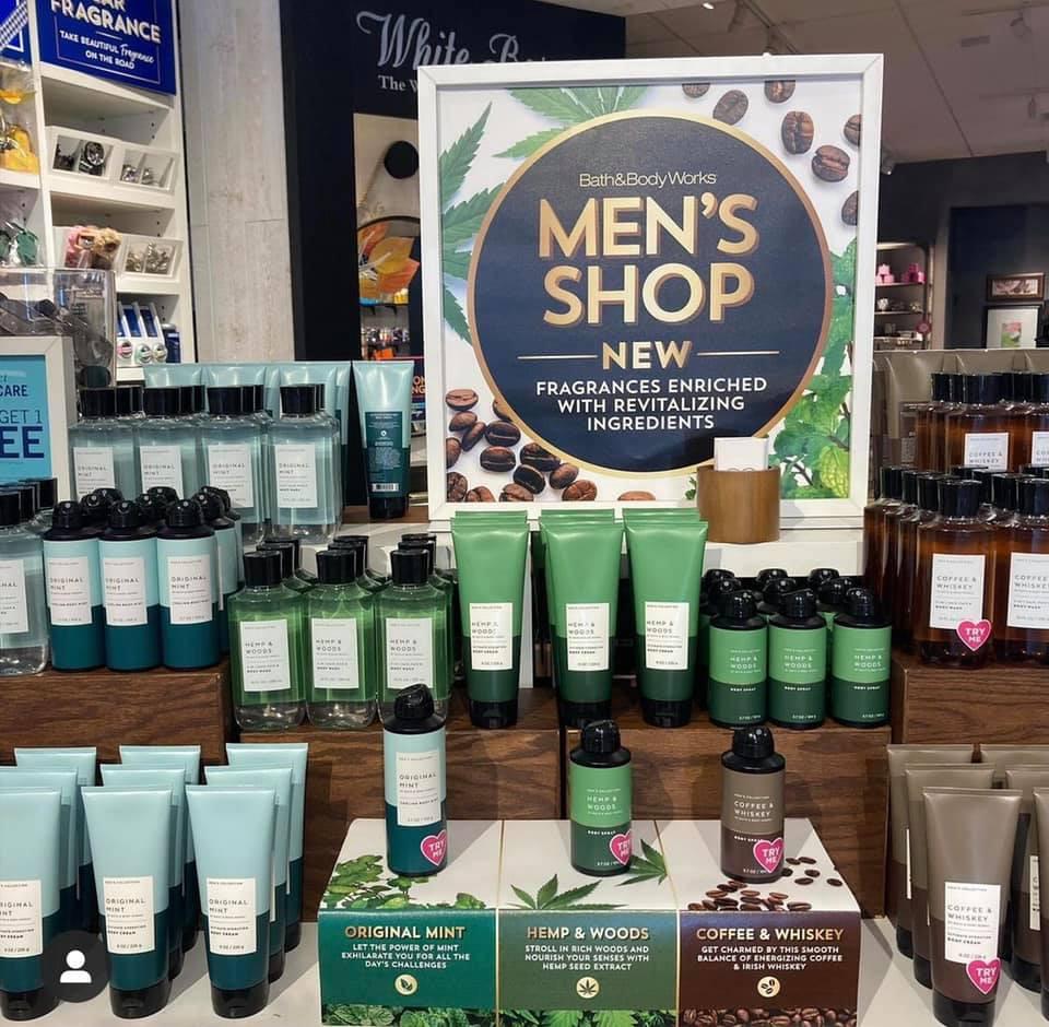 Men's Shop Test Candles September 2021