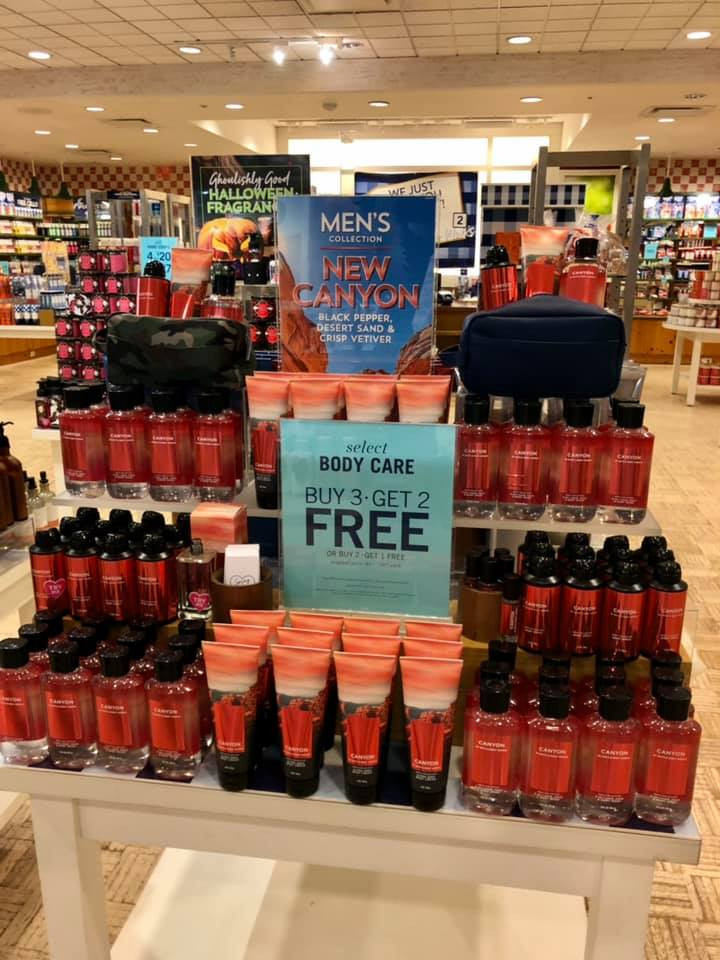 Bath and Body Works New Men's Canyon Fragrance