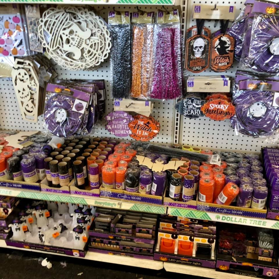 Dollar Tree Begins Setting Fall and Halloween Items August 2nd