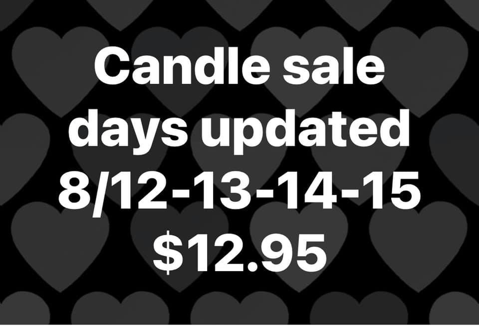 Bath and Body Works Candle Sale August 2021