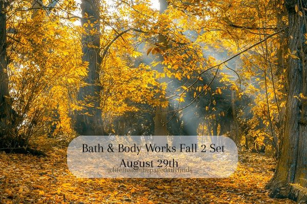 Bath-and-Body-Works-Fall-Two-Floor-Set-Information