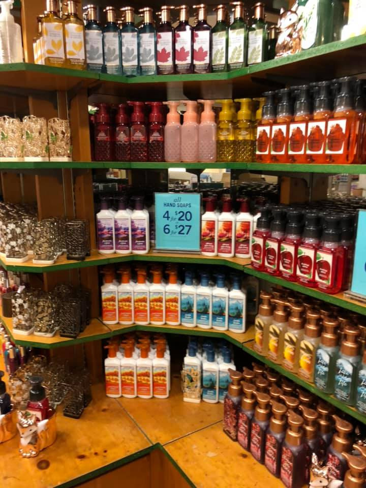 Bath and Body Works Hand Soap Wall Collection