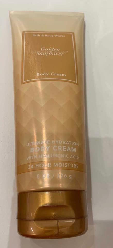 Bath & Body Works | New Faceted Body Care Collection Scent Find - Golden Sunflower