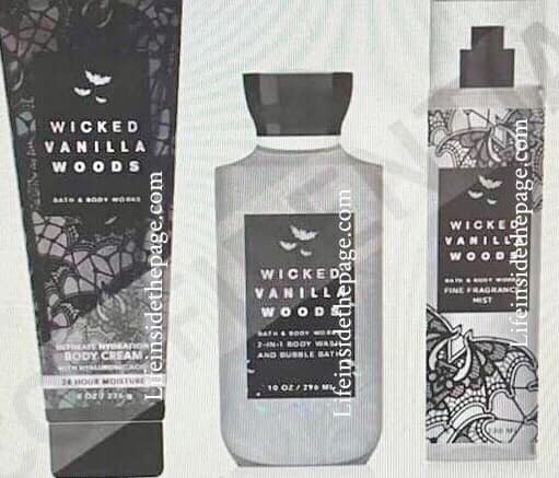 Bath and Body Works Wicked Vanilla Woods Body Care