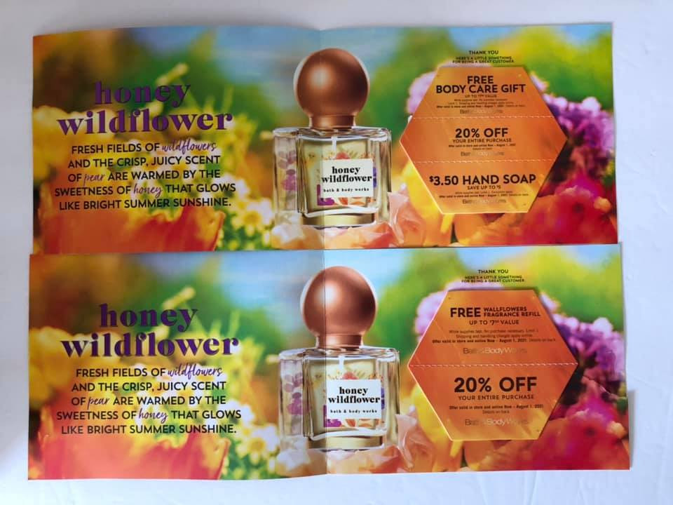 Bath & Body Works | July Mailer Coupons