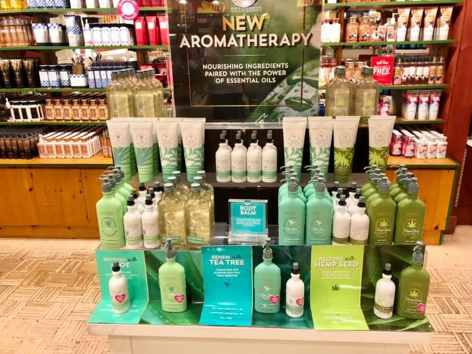 Bath & Body Works | New Aromatherapy Body Care - Green Hydration Collection | Tea Tree & Lavender, Hemp Seed Sage & Mint, Aloe Orange & Sandalwood