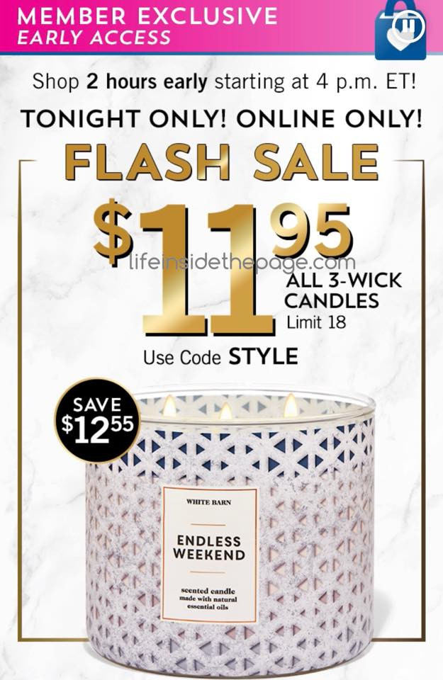 Bath-and-Body-Works-Rewards-Members-Candle-Sale-Early-Access-11.95