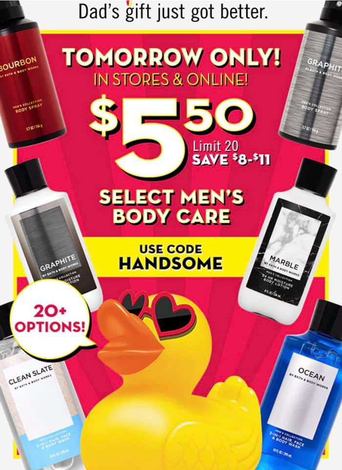 Life-Inside-The-Page-Mens-Body-Care-Sale-Friday-June-18th